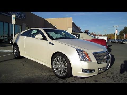 2011 Cadillac Cts Coupe 3 6 Premium Start Up Engine And