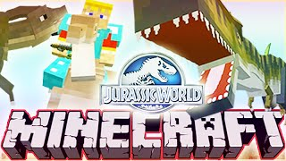 "MineCraft Jurassic World ""RolePlay"" How To Train Your Dino Ep.5"
