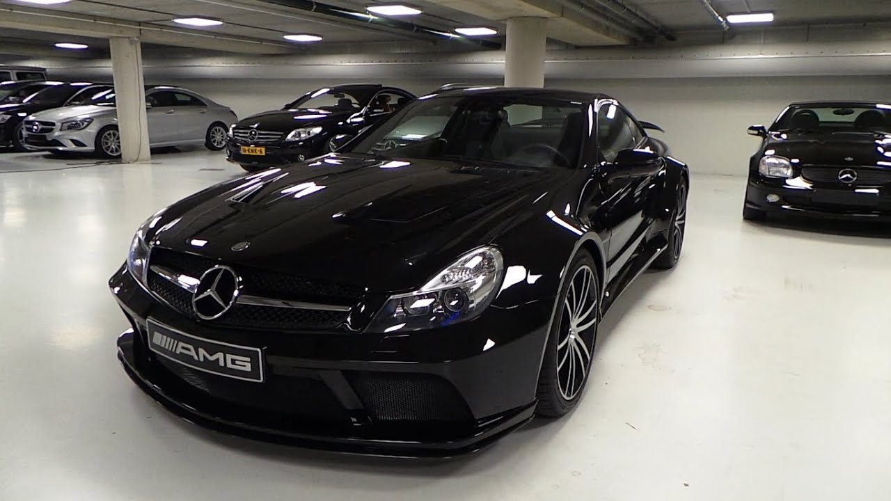 Mercedes Benz Sl65 Amg Black Series Start Up In Depth