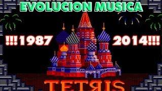 La evolucion de la cancion de tetris desde 1987 hasta hoy