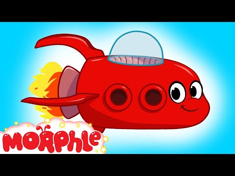 My Red Spaceship - My Magic Pet Morphle Episode #12