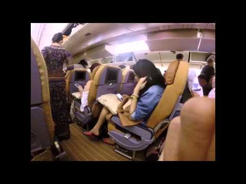 Flight Review: Singapore Airlines SQ495 Dubai - Singapore