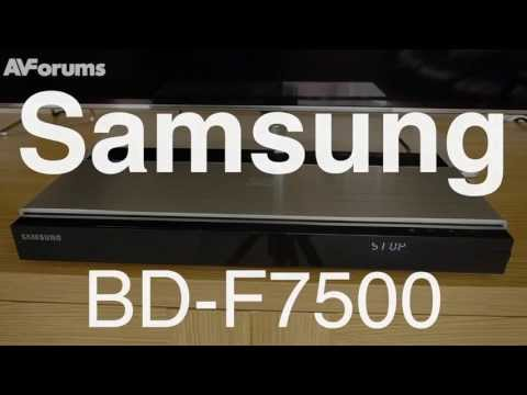 Samsung BD-F7500 3D Blu-ray Player Review