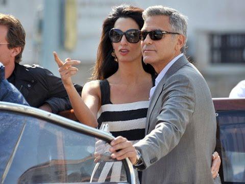 [HD]George Clooney - Amal Alamuddin