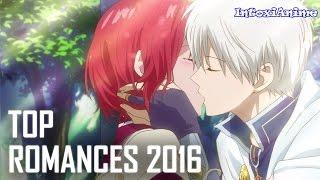 Os 10 Melhores Animes de Romance de 2016