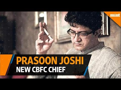 New CBFC Chief, Prasoon Joshi, wants to make a 'positive difference'
