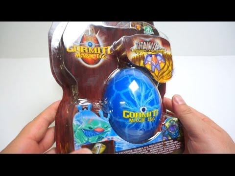 Gormiti MAGIC Surprise EGG Titanium