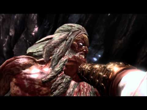 Full HD - God of War 3 The End Epic Gameplay ( Boss fight- Kratos vs Zeus Part 2 )