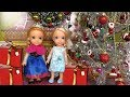 2018 New Year  S Party  Elsa And Anna Toddlers Celebrate At Barbie 39 S House