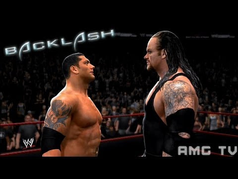 WWE 2K14 - Batista vs The Undertaker   Backlash 2007 Promo