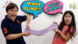 MARIA CLARA E JP QUEREM A MESMA SLIME 😱 Maria Clara & JP both want the same Slime
