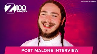 Download Lagu Post Malone Dreams of Meeting Ed Sheeran at Medieval Times | Interview Gratis STAFABAND