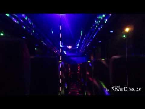 Interior + Dugem bus bahirah holiday