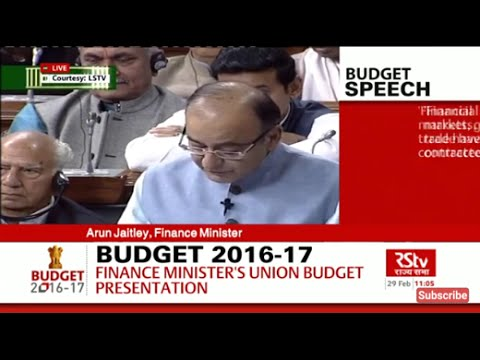FULL SPEECH: Finance Minister Arun Jaitley's Budget Speech | Union Budget 2016-17
