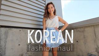 Korean Fashion Haul