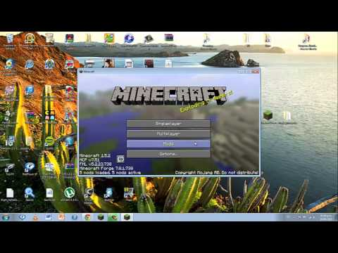 Como descargar mods para Minecraft 1.5.2 (Minecraft Forge- Not Enough Items- Code Chicken Core)