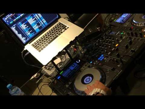 Serato DJ & DJM 900nxs en acción, sin interfaz
