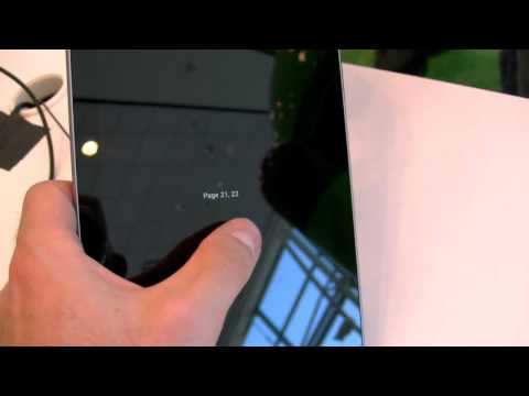 Video: Hands on with the Nexus 7 Tablet