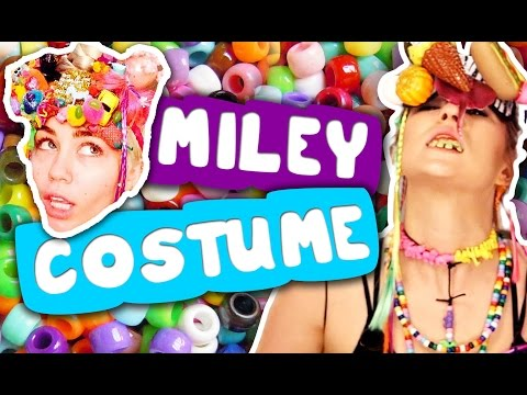 DIY Miley Cyrus Halloween Costume 2014 Crafting Queen