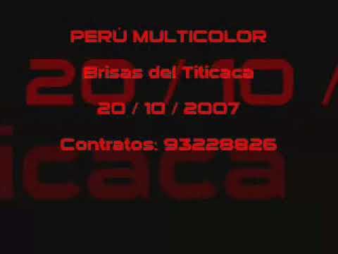 Son de los Diablos - Perú Multicolor