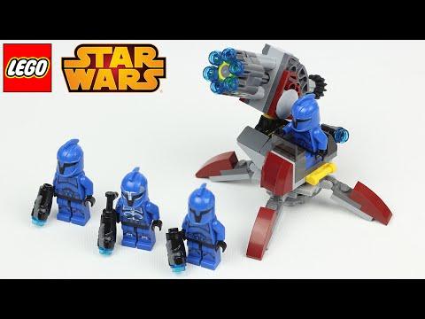LEGO STAR WARS THE CLONE WARS SENATE COMMANDO TROOPERS  ★ LEGO Star Wars Speed Build/Review Deutsch