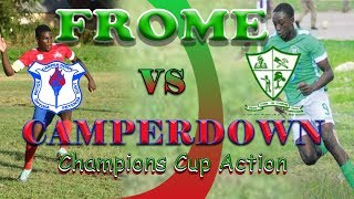 Frome VS Camperdown @ STETHS sports complex Champion cup action