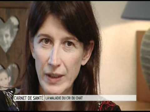 Chloe - maladie génétique - Le syndrome du cri du chat