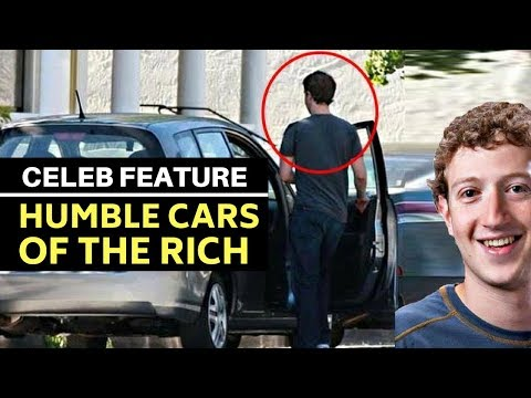 Astonishingly humble cars of the super rich: Mark Zuckerberg to Warren Buffett