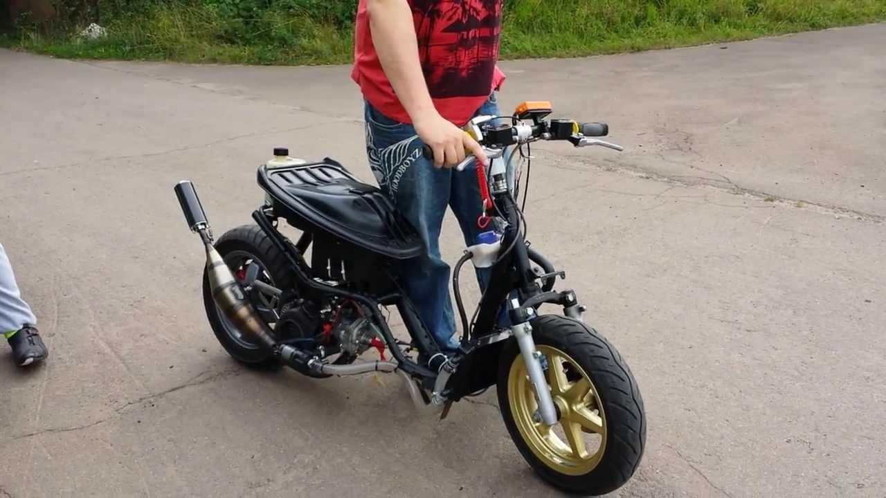 Yamaha Jog 90cc Yamaha Jog rr High End Evo Jog