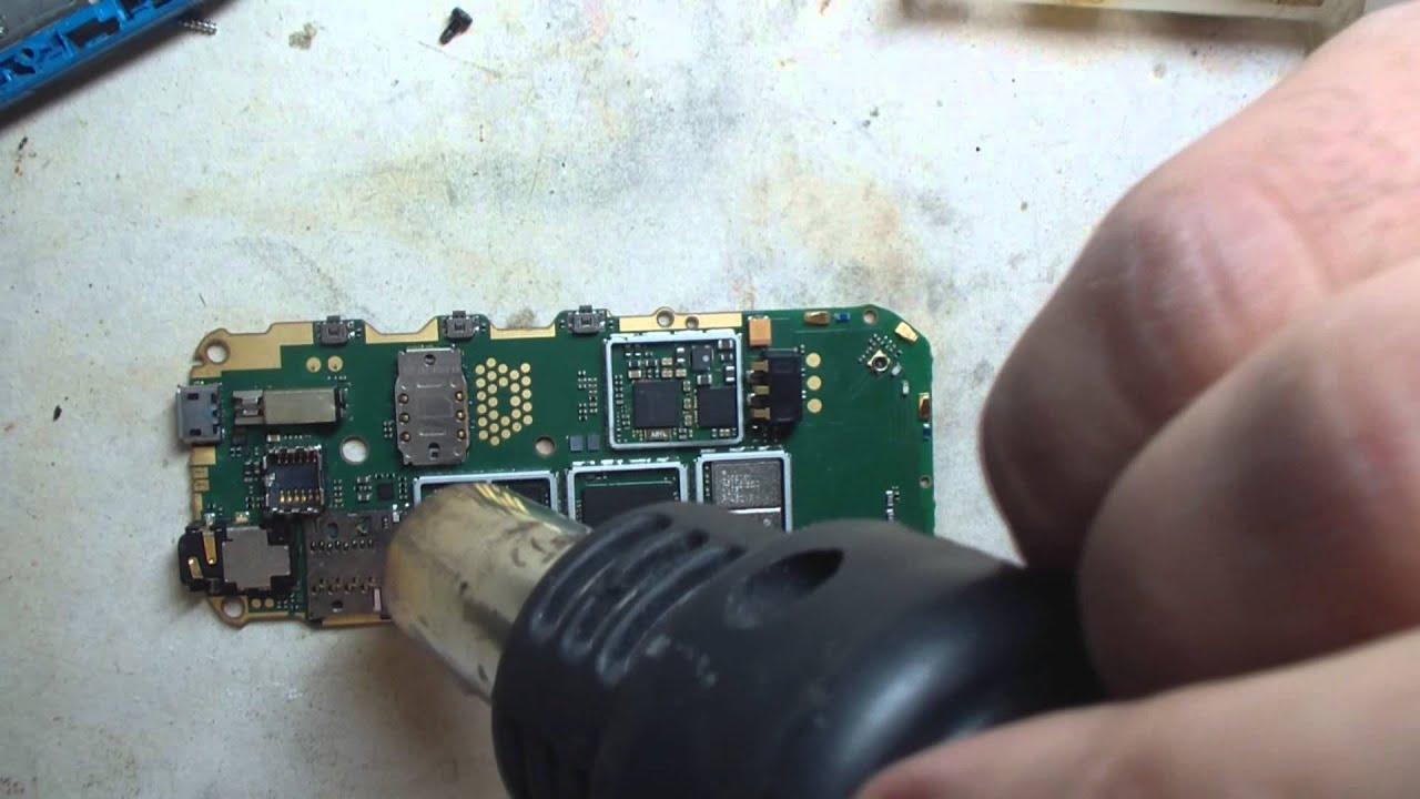 Телефон нокия ремонт своими руками 163