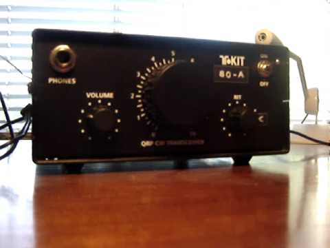 Ten-Tec T1380 QRP Kit On-the-air