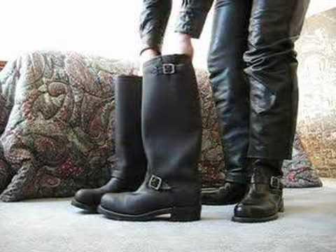 Chippewa Engineer Boots Youtube
