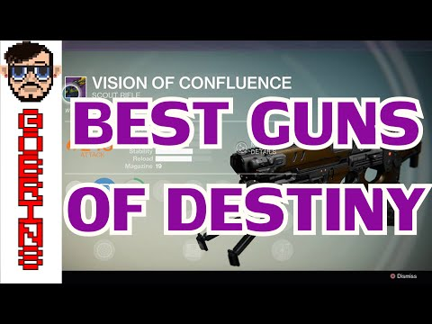 BEST GUNS OF DESTINY!! - Bungie Weekly Update on Weapons