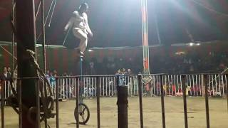 Cycling circus unbelievable in Bangladesh- Don't Try this at home