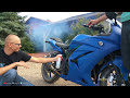 watch How To Put Seafoam In A Motorcycle Ninja 250 video