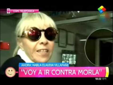 Claudia Villafañe cuestionó la cercanía de Ventura con Verónica Ojeda