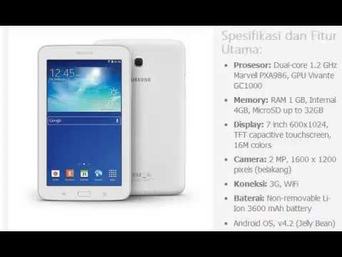 Harga HP: SAMSUNG Galaxy Tab 3 7.0 Lite