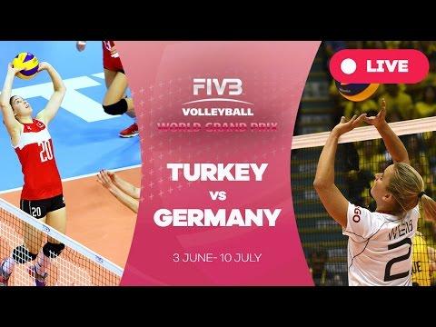 Turkey v Germany - Group 1: 2016 FIVB Volleyball World Grand Prix
