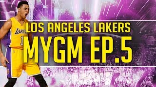 NBA 2K17 MyGM Ep. 5 - Los Angeles Lakers | NBA's Best Bench?