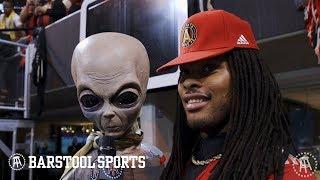 Barstool Sports Does the MLS Cup in Atlanta (Feat. Waka Flocka)