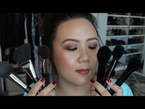 New Chanel Brushes vs Old Chanel Brushes?! | Chanel 2017 Brushes | GRWM | DreDreDoesMakeup