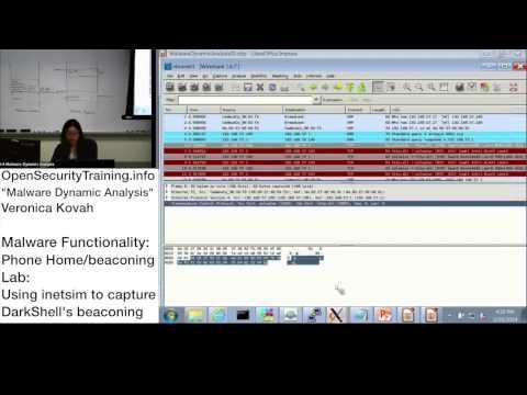 Dynamic Malware Analysis D2P20 Malware Functionality Phone Home Lab DarkShell