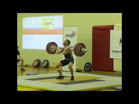 Dave Earle vs 141kg Clean and Jerk (69kg bodyweight)
