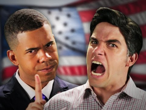 Barack Obama vs Mitt Romney. Epic Rap Battles Of History Season 2. Image 1