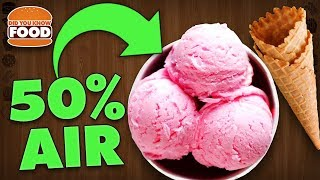 Ice Cream is 50% Air (Ice Cream Facts) - Did You Know Food Feat. Lazy Game Reviews (LGR Foods)