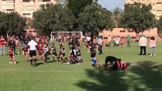 Xabia Aguiles Rugby en acción