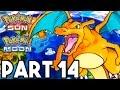 Pokemon Sun and Moon Gameplay Walkthrough Part 14 - RIDING CHARIZARD!! (3DS Pokemon Sun Gameplay)