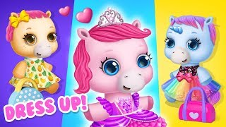 Dress up Baby Pony Sisters for a Picnic, Birthday & More   TutoTOONS Cartoons & Games for Kids