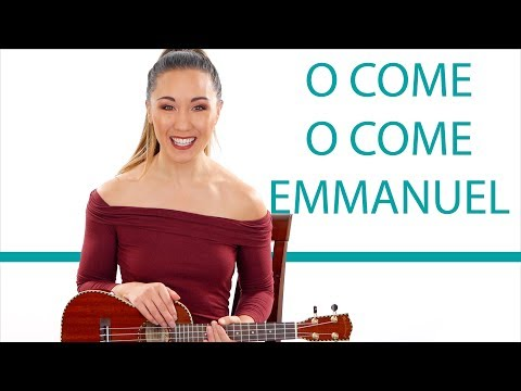 O Come O Come Emmanuel Beginner's Ukulele Tutorial And Play Along
