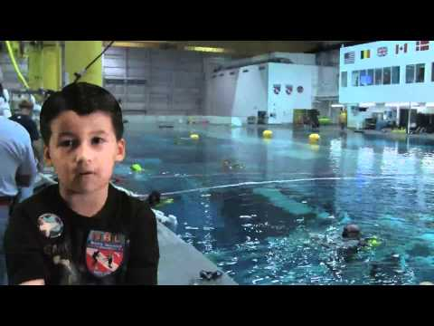 NASA Neutral Buoyancy Labratory (NBL)  Tour